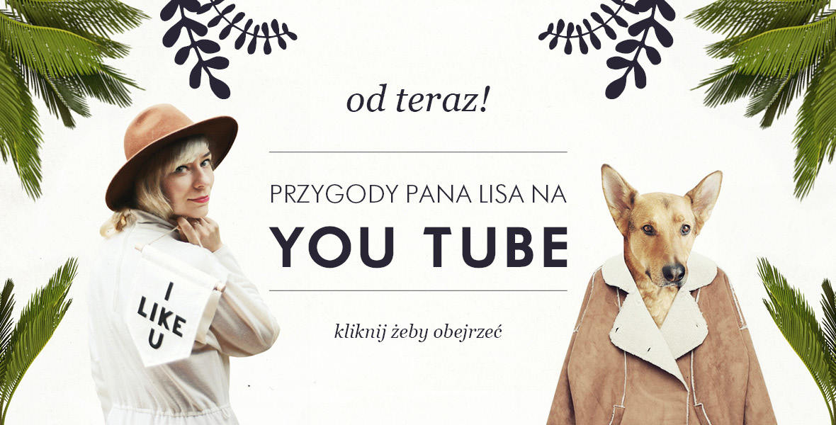 Pan Lis ma Kanał na YouTube